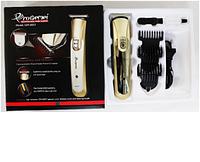 Hair Trimmer GM 6057 Gemei, Профессиональная машинка для стрижки с насадками,Триммер для бороды аккумуляторный