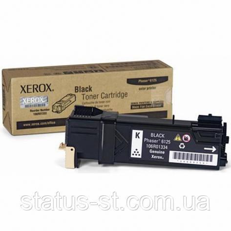 Заправка картриджа Xerox 106R01338 Black для принтера Phaser 6125, фото 2