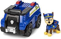 Игровой набор Щенячий Патруль Гонщик Чейз на машине Paw Patrol Chase's Patrol Cruiser