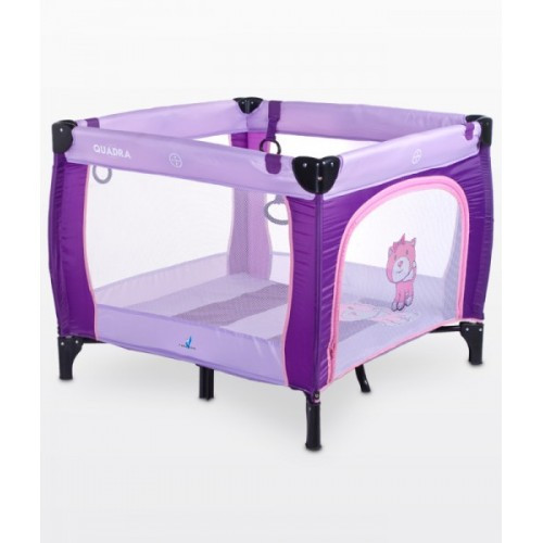 Манеж Caretero Quadra - purple (14340)