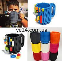 Подарочная Чашка Lego Конструктор 350 мл , Много цветов лего