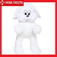 Плюшевый Зайчик Снежок 65 см белый