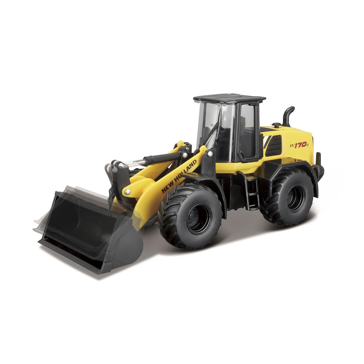 Автомодель серии Construction - ЭКСКАВАТОР NEW HOLLAND W170D, 18-32083