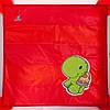Манеж Caretero Quadra - red, фото 2