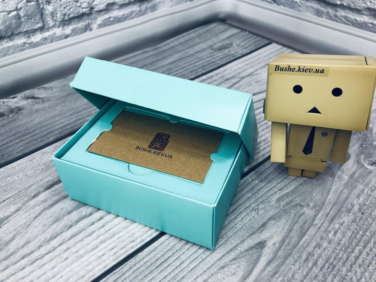 *10 шт* / Коробка для пластиковой карты / 140х85х45 мм / П-Бирюз / б.о.