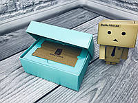 *10 шт* / Коробка для пластиковой карты / 140х85х45 мм / П-Бирюз / б.о., фото 1