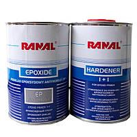 Грунт эпоксидный 1+1 Ranal 0,8л+0,8л черный