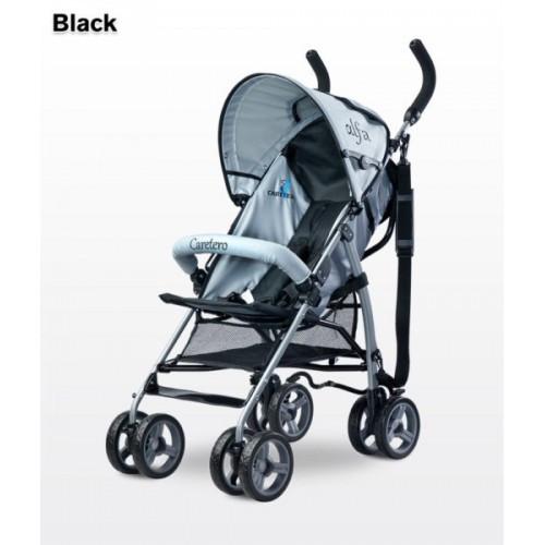 Коляска Caretero Alfa - black (13761)