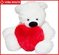 Медведь 110 см с Сердцем 40 см девушке, фото 1
