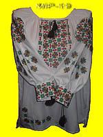 Блузка стильная женская с вышитым  орнаментом