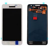 Дисплей для Samsung Galaxy A3 A300H | A300F | 3500Н Яркость регулируется (Белый) TFT подсветка оригинал
