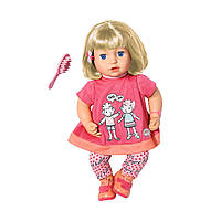 Интерактивная кукла Zapf Baby Annabell - Повторюшка Джулия 43 см (700662)