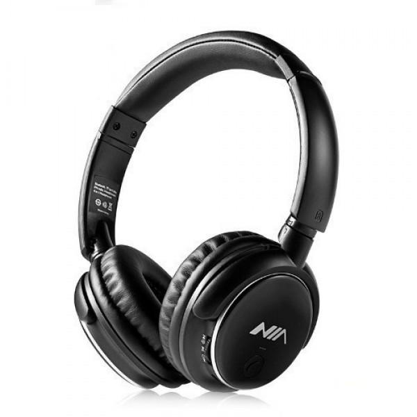Беспроводные функциональные Bluetooth наушники NIA Q1 c MP3 и FM