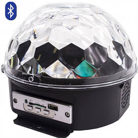 Диско шар с пультом ДУ Magic Ball Light LED Crystal
