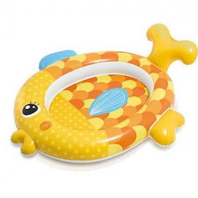 Детский надувной бассейн из прочного винила Intex