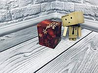 *10 шт* / Коробка / Бонбоньерка / 60х60х75 мм / печать-Снег.Красн / б.о. / НГ, фото 1