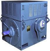 Высоковольтный электродвигатель типа ДАЗО4-450У-6МУ1 630 кВт/1000 об/мин, фото 2