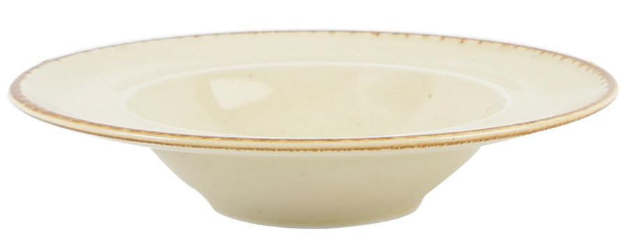 Тарелка для пасты - 25 см, Желтая (Porland) Seasons Yellow