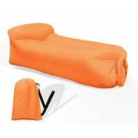 Надувной матрас Ламзак Top Air Sofa Chair 1.5м Оранжевый