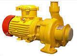 Насос КМ 80-50-215Е (КМЕ 80-50-215 для перекачивания нефтепродуктов, бензина, топлива, нефти, мазут, фото 2