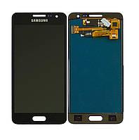 Дисплей для Samsung Galaxy A3 A300H | A300F | 3500Н Яркость регулируется (Черный) TFT подсветка оригинал
