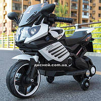 Детский мотоцикл M 4116-1 на аккумуляторе, белый