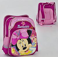 Рюкзак школьный для девочки, 2 отделения, 4 кармана, спинка ортопедическая
