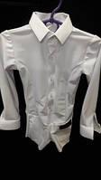 Рубашка мужская комбидресс для танцев из бифлекса двойная застежка.
