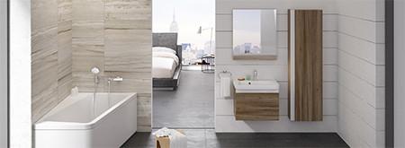 Шафки д/ванних кімнат 10°