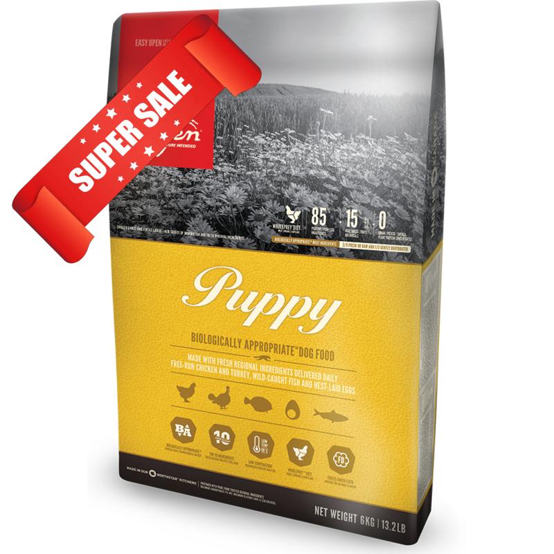 Сухой корм для собак Orijen Puppy 0,34 кг
