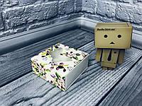 *50 шт* / Коробка для пряников / 80х80х35 мм / печать-Весна / окно-Бабочка, фото 1