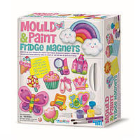 """Детский красочный набор для творчества 4M """"Магниты на холодильник"""" (00-03536)"""