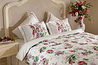 Комплект постельного белья сатин Leylak Премиум класс