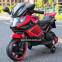 Детский мотоцикл M 4116-3 на аккумуляторе, красный