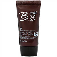 Солнцезащитный BB-крем Mizon Snail Repair BB Cream 01 rose beige, фото 1