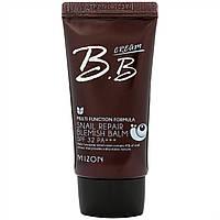 Солнцезащитный BB-крем Mizon Snail Repair BB Cream 02 sand beige