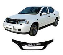 Дефлектор капота  Chevrolet VIVA с 2004, Мухобойка Chevrolet VIVA