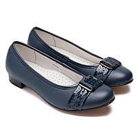 Школьные туфли Flamingo, лодочки для девочек, размер 34-38