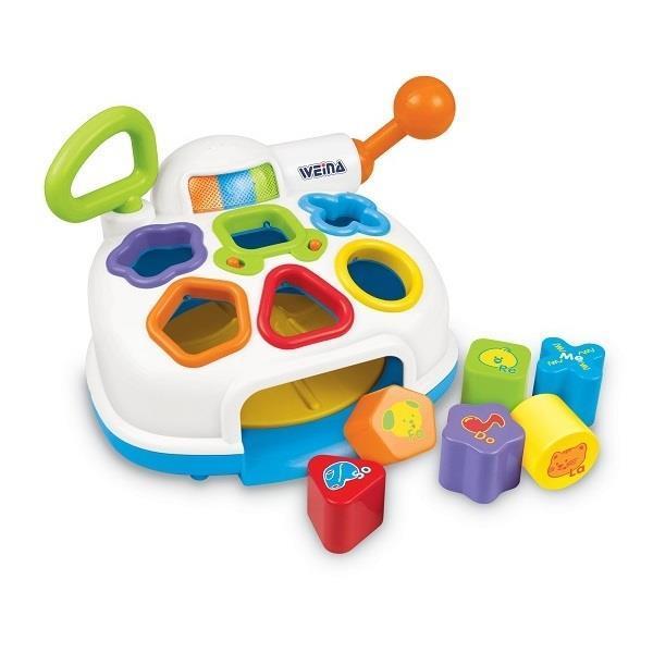 Детская развивающая музыкальная игрушка-сортер Weina (2002)