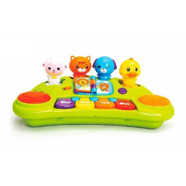 """Детский музыкальный игровой центр Hola Toys """"Пианино со зверушками"""" (2103A)"""