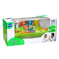 """Детский музыкальный игровой центр Hola Toys """"Пианино со зверушками"""" (2103A), фото 2"""