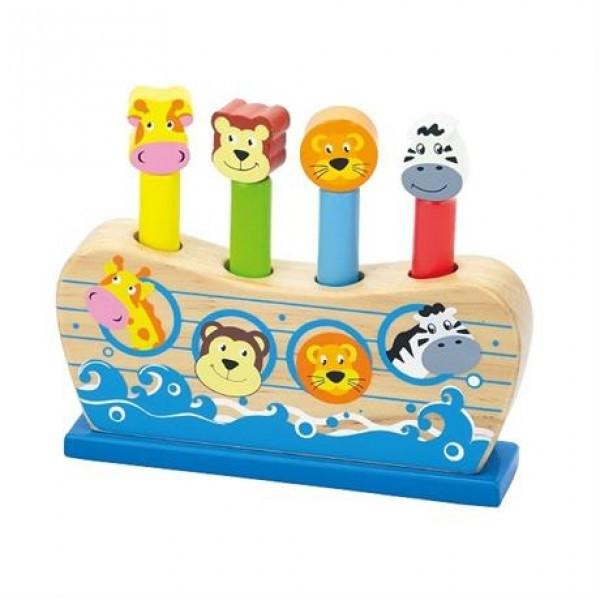 """Детская деревянная игрушка Viga Toys """"Веселый ковчег"""" (50041)"""