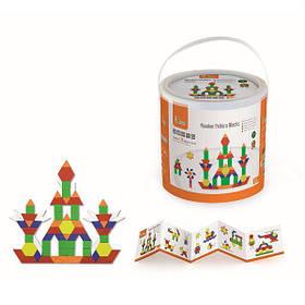 Детский Деревянный Набор строительных блоков Viga Toys (50065)