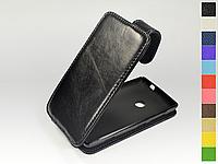 Откидной чехол из натуральной кожи для Nokia Lumia 520