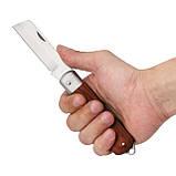 Нож электрика складной прямой INTERTOOL HT-0560, фото 3