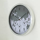 Настенные часы пластик d35см 1019926, фото 2