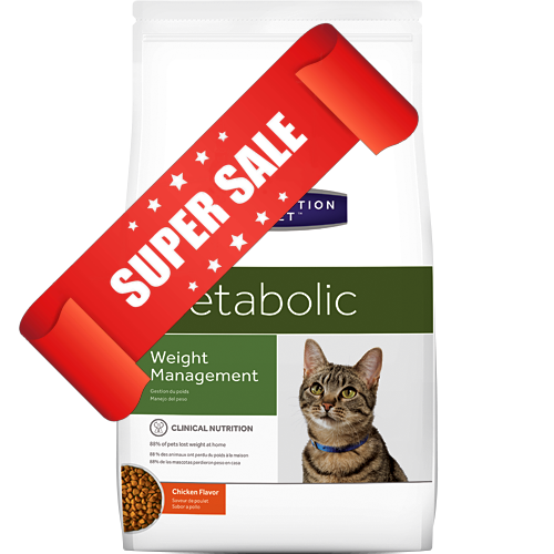 Лечебный сухой корм для котов Hill's Prescription Diet Feline Metabolic Weight Management 4 кг