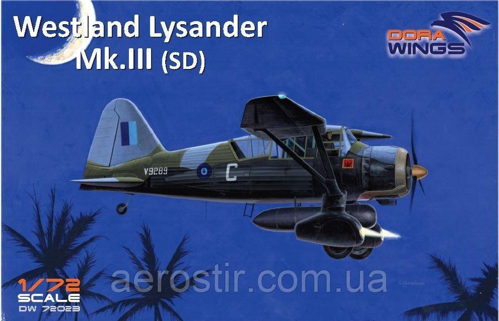Lysander Mk.III (SD) 1/72 Dora Wings 72023