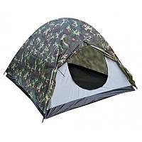 Трехместная двухслойная палатка Treker MAT-118