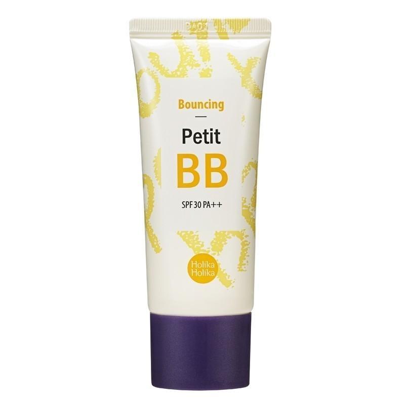 Відображає BB крем для обличчя Holika Holika Bouncing Petit BB 30 мл